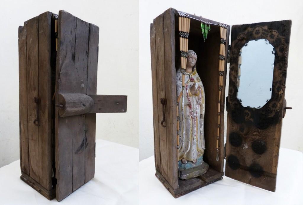 Virgen en caja de pesca, 2015