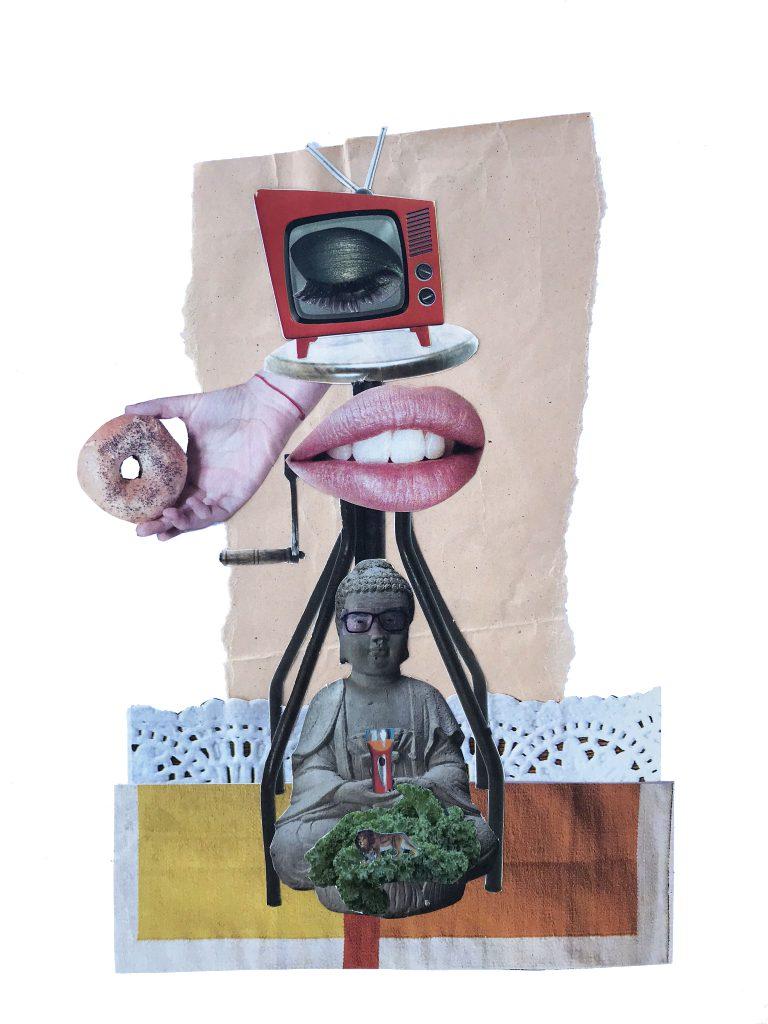 Collage analógico